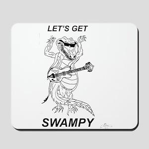 Rockadile - Let's Get Swampy Mousepad
