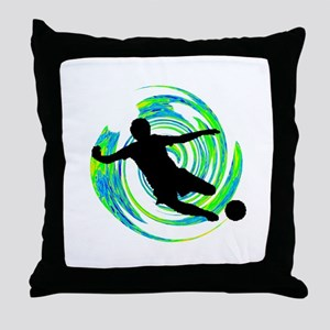 GOALS HAPPENING Throw Pillow