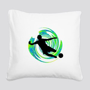 GOALS HAPPENING Square Canvas Pillow