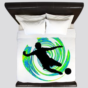 GOALS HAPPENING King Duvet
