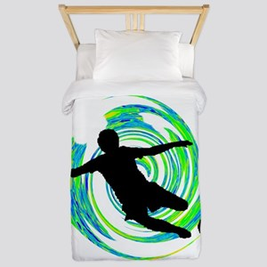 GOALS HAPPENING Twin Duvet Cover