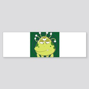 The Most Ugly Alien Ever Bumper Sticker