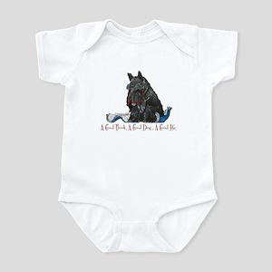 Scottish Terrier Book Infant Bodysuit