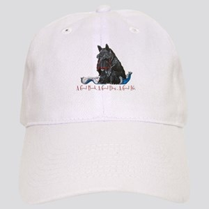 Scottish Terrier Book Cap