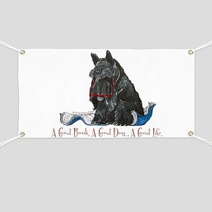 Scottish Terrier Book Banner