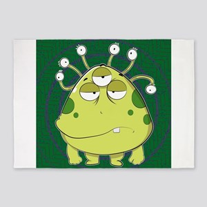 The Most Ugly Alien Ever 5'x7'Area Rug