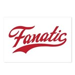 Fanatical Gear (red) Postcards (Package of 8)