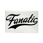 Fanatical Gear (black) Rectangle Magnet (10 pack)