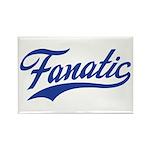 Fanatical Gear (blue) Rectangle Magnet (10 pack)