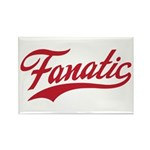 Fanatical Gear (red) Rectangle Magnet (10 pack)