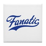 Fanatical Gear (blue) Tile Coaster