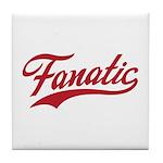 Fanatical Gear (red) Tile Coaster