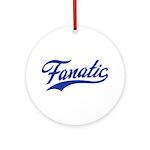 Fanatical Gear (blue) Ornament (Round)