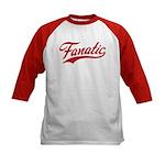 Fanatical Gear (red) Kids Baseball Jersey