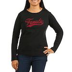 Fanatical Gear (red) Women's Long Sleeve Dark T-Sh