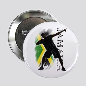 """Jamaica - as fast as lightning! - 2.25"""" Butto"""