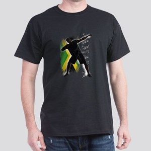 Jamaica - as fast as lightning! - Dark T-Shirt