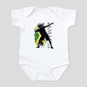 Jamaica - as fast as lightning! - Infant Bodysuit