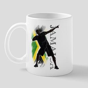 Jamaica - as fast as lightning! - Mug