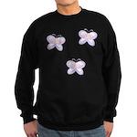 Butterfly Trio Sweatshirt (dark)