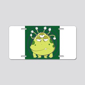 The Most Ugly Alien Ever Aluminum License Plate