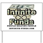 Infinite Funds Logo With Link Yard Sign