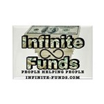 Infinite Funds Logo With Link Magnets