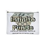Infinite Funds Logo With Link Makeup Bag