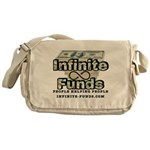 Infinite Funds Logo With Link Messenger Bag
