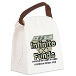 Infinite Funds Logo With Link Canvas Lunch Bag