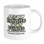 Infinite Funds Logo With Link Mugs