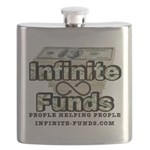 Infinite Funds Logo With Link Flask
