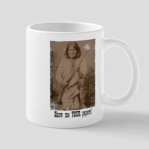 2-SepiaGeronimo Mugs