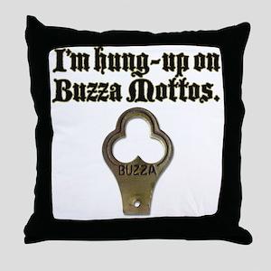 Hung-up Throw Pillow
