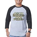 Infinite Funds Money Stack Mens Baseball Tee