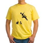 Bouldering Yellow T-Shirt