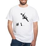 Bouldering White T-Shirt