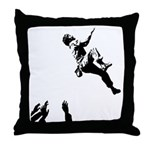 Bouldering Throw Pillow