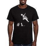 Bouldering Men's Fitted T-Shirt (dark)