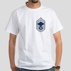 Chief Master Sergeant White T-Shirt