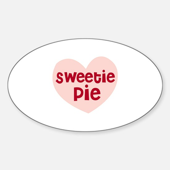 Sweetie Pie Oval Decal