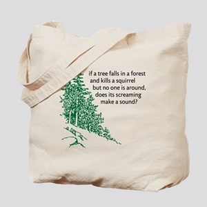 Tree Falls Tote Bag