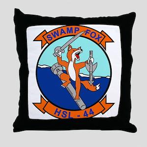 Hsl-44 Swamp Fox Throw Pillow