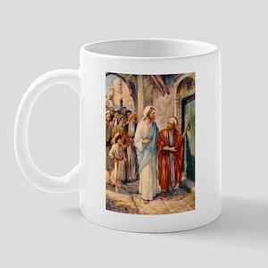 Jesus and Zacchaeus Mug