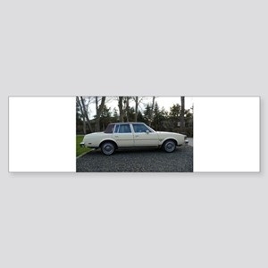 Cutlass Suoreme Sedan Sticker (Bumper)