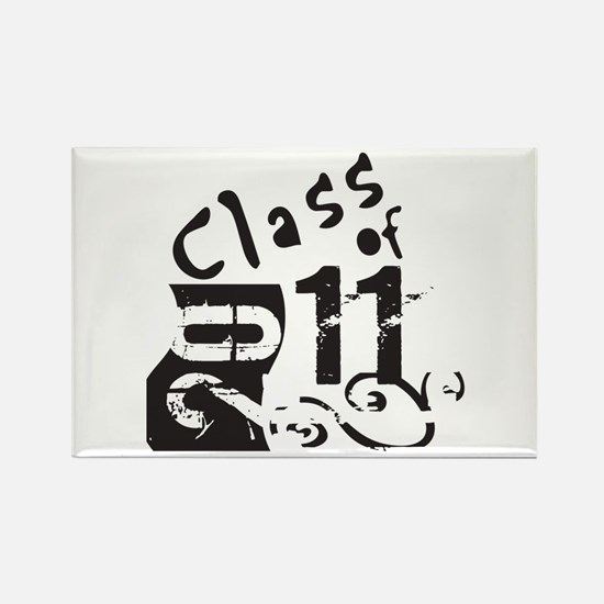 Class of 2011 Rectangle Magnet (100 pack)