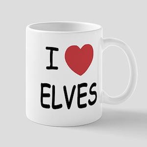 I heart elves Mug