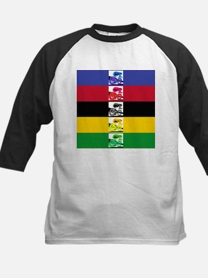 world champ stripes Kids Baseball Jersey