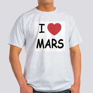 I heart mars Light T-Shirt