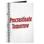 Procrastinate Tomorrow Journal